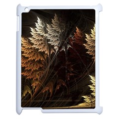 Fractalius Abstract Forests Fractal Fractals Apple Ipad 2 Case (white) by BangZart