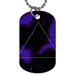Space Dog Tag (one Side)