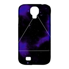 Space Samsung Galaxy S4 Classic Hardshell Case (pc+silicone) by Valentinaart