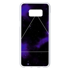 Space Samsung Galaxy S8 Plus White Seamless Case by Valentinaart