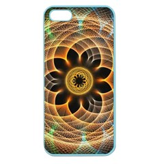 Mixed Chaos Flower Colorful Fractal Apple Seamless Iphone 5 Case (color)