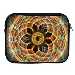 Mixed Chaos Flower Colorful Fractal Apple Ipad 2/3/4 Zipper Cases