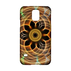 Mixed Chaos Flower Colorful Fractal Samsung Galaxy S5 Hardshell Case