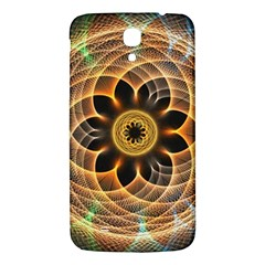 Mixed Chaos Flower Colorful Fractal Samsung Galaxy Mega I9200 Hardshell Back Case