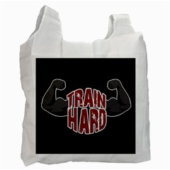 Train Hard Recycle Bag (one Side) by Valentinaart