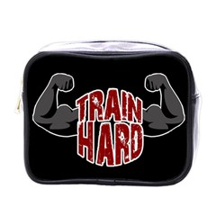 Train Hard Mini Toiletries Bags by Valentinaart