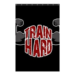 Train Hard Shower Curtain 48  X 72  (small)  by Valentinaart
