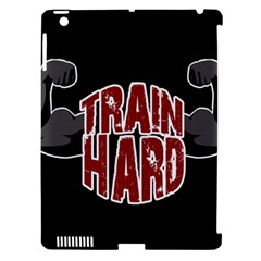 Train Hard Apple Ipad 3/4 Hardshell Case (compatible With Smart Cover) by Valentinaart