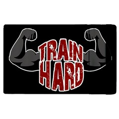 Train Hard Apple Ipad 2 Flip Case by Valentinaart
