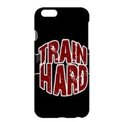 Train Hard Apple Iphone 6 Plus/6s Plus Hardshell Case by Valentinaart