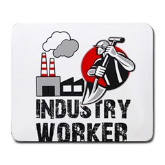Industry Worker  Large Mousepads