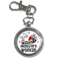 Industry Worker  Key Chain Watches by Valentinaart