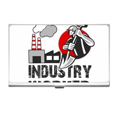 Industry Worker  Business Card Holders by Valentinaart