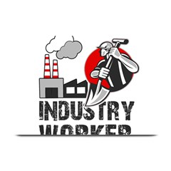 Industry Worker  Plate Mats by Valentinaart