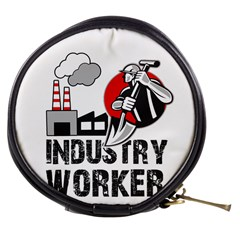Industry Worker  Mini Makeup Bags by Valentinaart