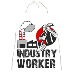 Industry Worker  Full Print Aprons by Valentinaart