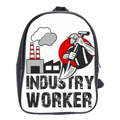 Industry Worker  School Bags (xl)  by Valentinaart