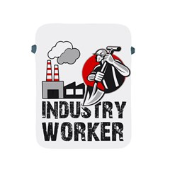 Industry Worker  Apple Ipad 2/3/4 Protective Soft Cases by Valentinaart