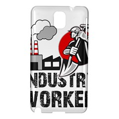 Industry Worker  Samsung Galaxy Note 3 N9005 Hardshell Case by Valentinaart