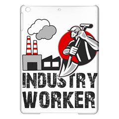Industry Worker  Ipad Air Hardshell Cases by Valentinaart
