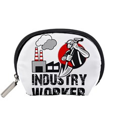 Industry Worker  Accessory Pouches (small)  by Valentinaart