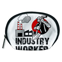 Industry Worker  Accessory Pouches (medium)  by Valentinaart