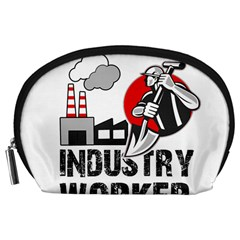 Industry Worker  Accessory Pouches (large)  by Valentinaart