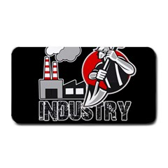 Industry Worker  Medium Bar Mats by Valentinaart