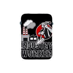 Industry Worker  Apple Ipad Mini Protective Soft Cases by Valentinaart