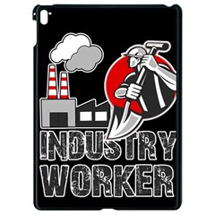 Industry Worker  Apple Ipad Pro 9 7   Black Seamless Case by Valentinaart
