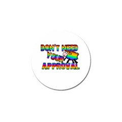 Dont Need Your Approval Golf Ball Marker (10 Pack) by Valentinaart