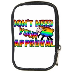 Dont Need Your Approval Compact Camera Cases by Valentinaart