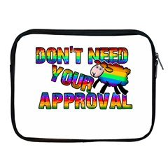 Dont Need Your Approval Apple Ipad 2/3/4 Zipper Cases by Valentinaart