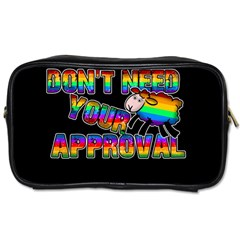 Dont Need Your Approval Toiletries Bags by Valentinaart