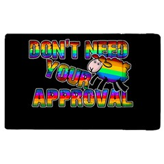 Dont Need Your Approval Apple Ipad Pro 9 7   Flip Case by Valentinaart