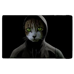 Gangsta Cat Apple Ipad Pro 9 7   Flip Case