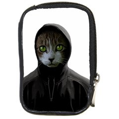 Gangsta Cat Compact Camera Cases by Valentinaart