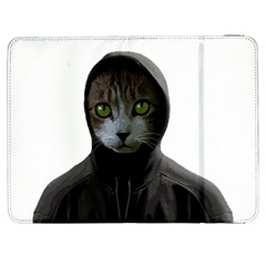 Gangsta Cat Samsung Galaxy Tab 7  P1000 Flip Case by Valentinaart