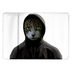 Gangsta Cat Samsung Galaxy Tab 10 1  P7500 Flip Case