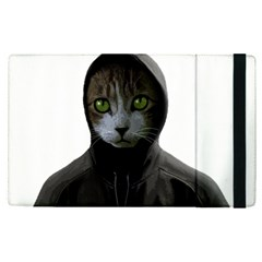 Gangsta Cat Apple Ipad Pro 12 9   Flip Case by Valentinaart