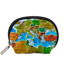 World Map Accessory Pouches (small)  by BangZart