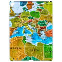 World Map Apple Ipad Pro 12 9   Hardshell Case by BangZart