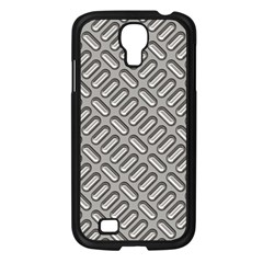 Grey Diamond Metal Texture Samsung Galaxy S4 I9500/ I9505 Case (black)
