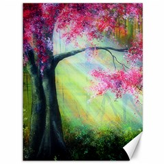 Forests Stunning Glimmer Paintings Sunlight Blooms Plants Love Seasons Traditional Art Flowers Sunsh Canvas 36  X 48   by BangZart