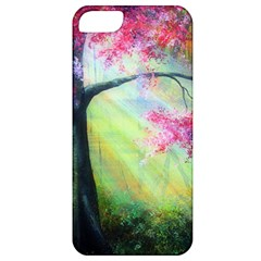 Forests Stunning Glimmer Paintings Sunlight Blooms Plants Love Seasons Traditional Art Flowers Sunsh Apple Iphone 5 Classic Hardshell Case