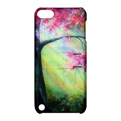 Forests Stunning Glimmer Paintings Sunlight Blooms Plants Love Seasons Traditional Art Flowers Sunsh Apple Ipod Touch 5 Hardshell Case With Stand