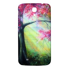 Forests Stunning Glimmer Paintings Sunlight Blooms Plants Love Seasons Traditional Art Flowers Sunsh Samsung Galaxy Mega I9200 Hardshell Back Case