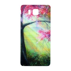 Forests Stunning Glimmer Paintings Sunlight Blooms Plants Love Seasons Traditional Art Flowers Sunsh Samsung Galaxy Alpha Hardshell Back Case
