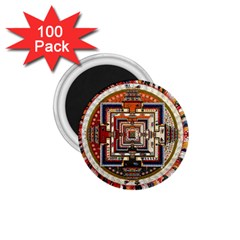 Colorful Mandala 1 75  Magnets (100 Pack)  by BangZart