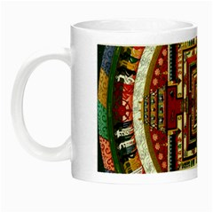 Colorful Mandala Night Luminous Mugs